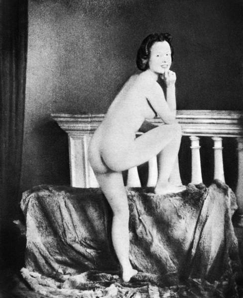 Wall Art - Photograph - Nude Posing, C1850 by Granger