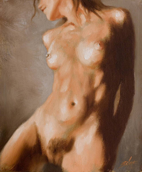 Painting - Nude Study by John Silver