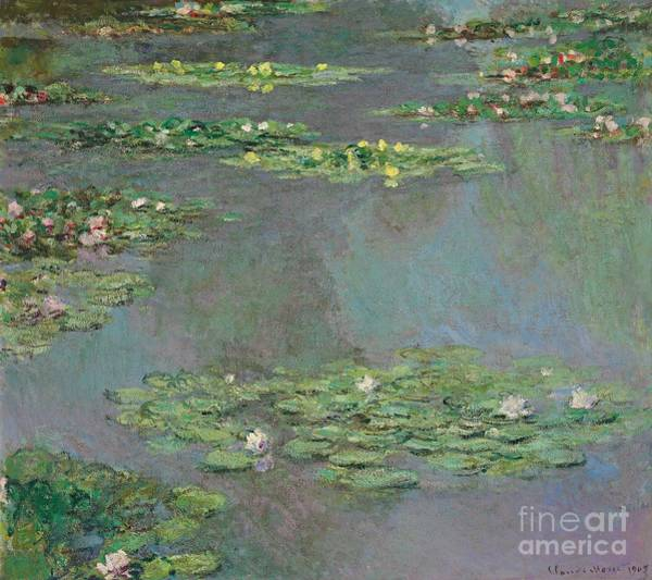 Pond Wall Art - Painting - Nympheas by Claude Monet