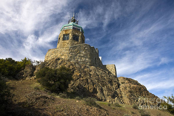 Wall Art - Photograph - Observation Tower Mount Diablo State Park by Jason O Watson