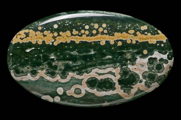Geodes Photograph - Ocean Jasper Agate by Natural History Museum, London/science Photo Library