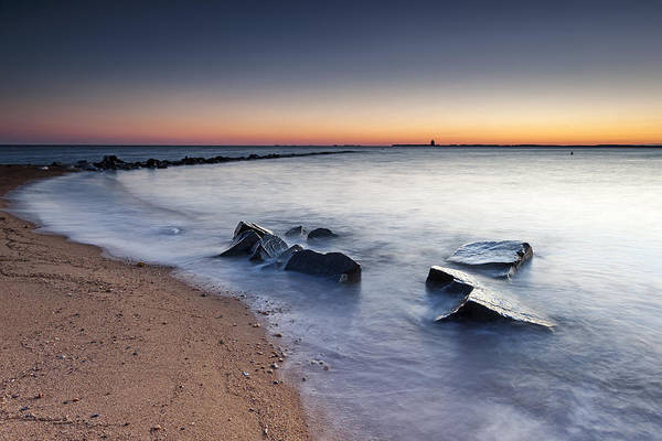 Sandy Point State Park Photograph - 2 Of 3 Ain't So Bad by Edward Kreis