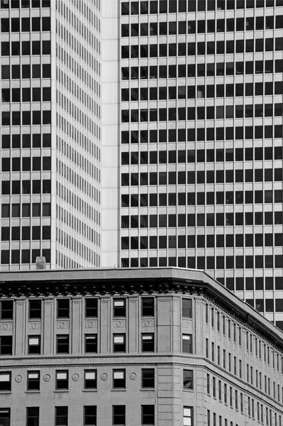 Wall Art - Photograph - Office Towers  Montreal, Quebec, Canada by David Chapman