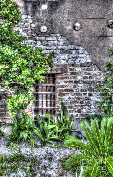 Photograph - Old City Jail Window by Dale Powell