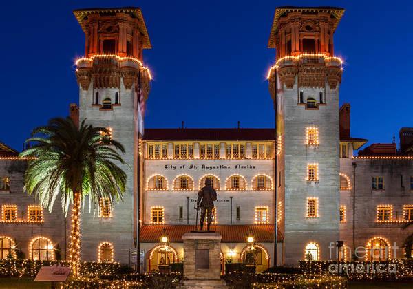 Lightner Museum Photograph - Old Hotel Alcazar Now Lightner Museum St. Augustine Florida by Dawna Moore Photography