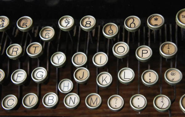 Wall Art - Photograph - Old Keys by Laurie Perry