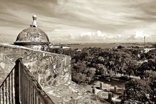 Photograph - Old San Juan Walls by Ricardo J Ruiz de Porras