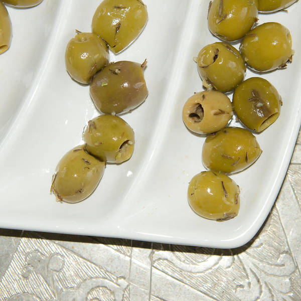Deli Wall Art - Photograph - Olives by Tom Gowanlock