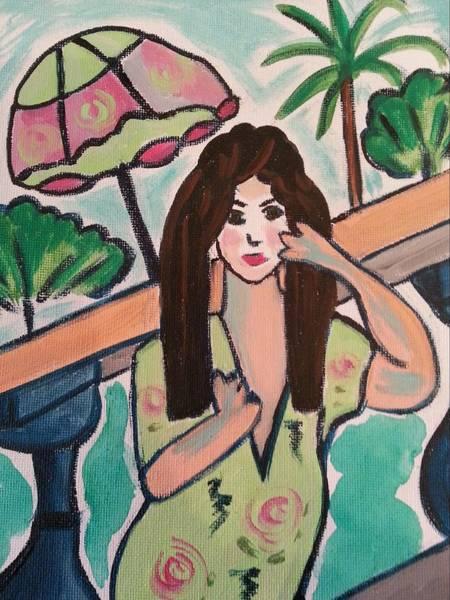 Painting - On Tour by Nikki Dalton
