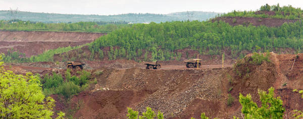 Wall Art - Photograph - Open Pit Iron Mine by Jim West