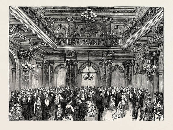 Wall Art - Drawing - Opening Of The New Houses Of Parliament by English School