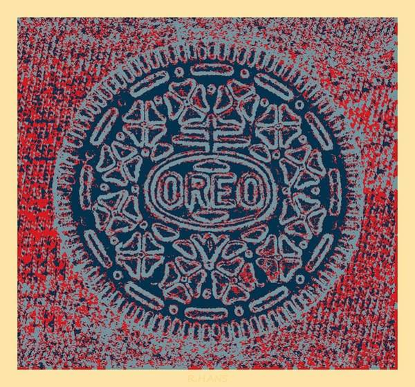Nabisco Photograph - Oreo In Hope1 by Rob Hans