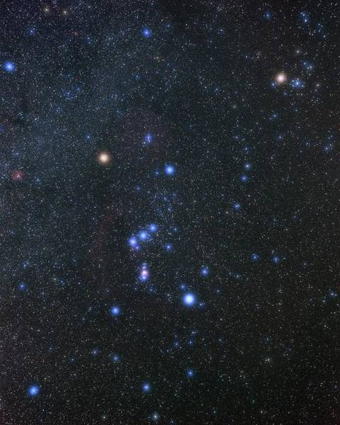 Wall Art - Photograph - Orion Constellation by Eckhard Slawik/science Photo Library