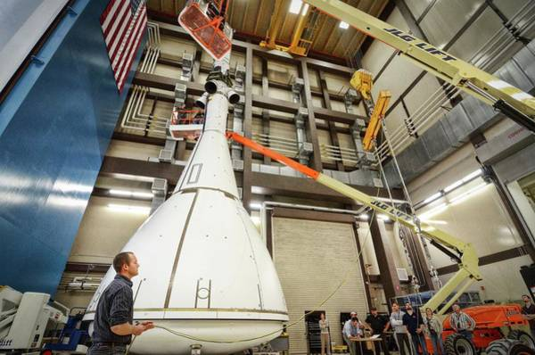 Wall Art - Photograph - Orion Launch Abort System Testing by Nasa/science Photo Library