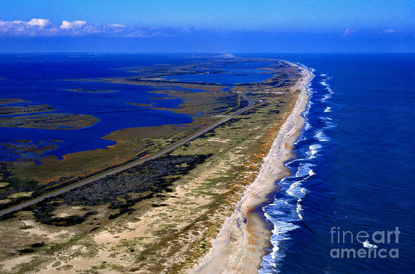 Photograph - Outer Banks Aerial by Thomas R Fletcher