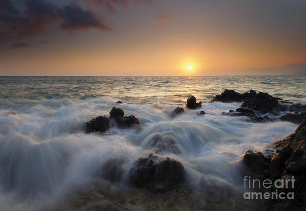 Kihei Photograph - Over The Rocks by Mike  Dawson