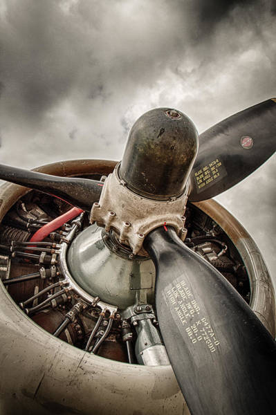 Wall Art - Photograph - P-17 Prop by Mike Burgquist