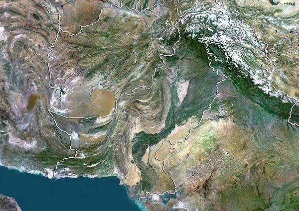 Wall Art - Photograph - Pakistan by Planetobserver/science Photo Library