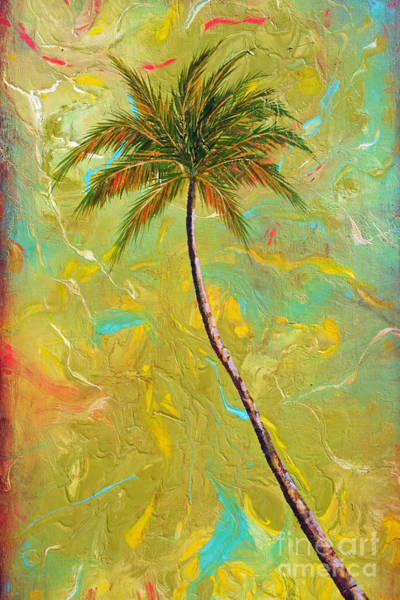 Wall Art - Painting - Palm Tree Studio 2 by Gabriela Valencia