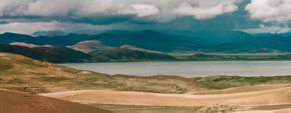 Photograph - Panarama Brahmaputra Yarlung Tsangpo River Tibet by Raimond Klavins