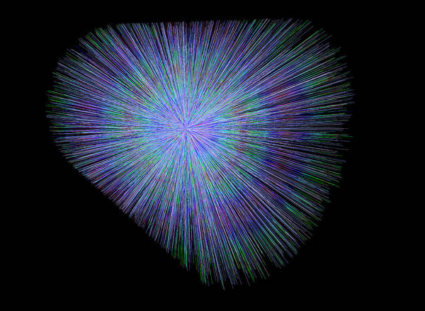 Wall Art - Photograph - Particle Collision by Cern/science Photo Library