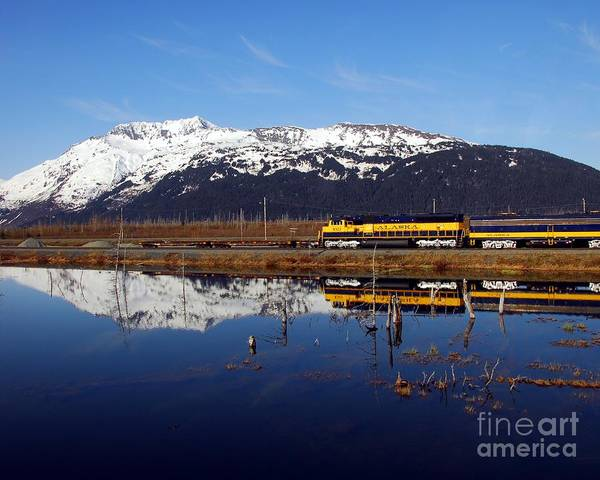 Photograph - Passing Reflection 1 by Mel Steinhauer