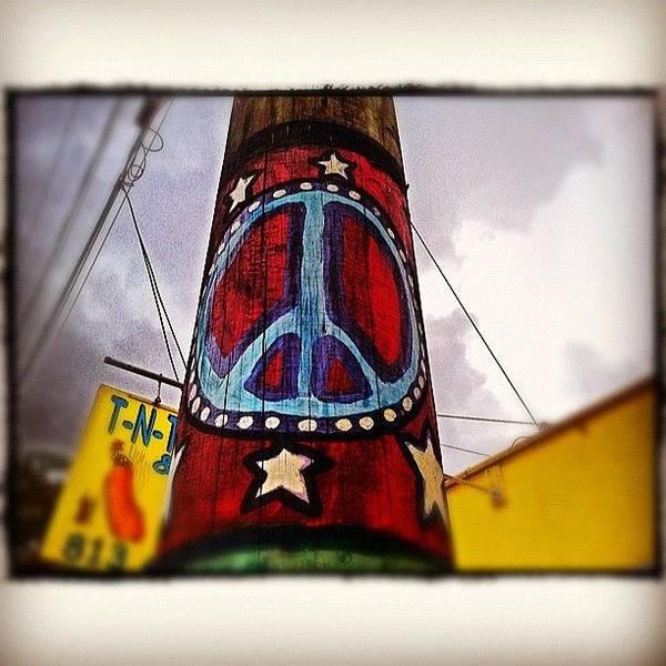 Peace Wall Art - Photograph - Peace Pole by Scott Pellegrin