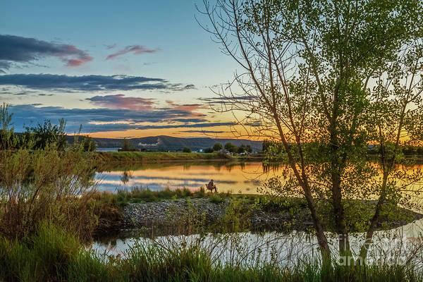 Aft Photograph - Peaceful by Robert Bales