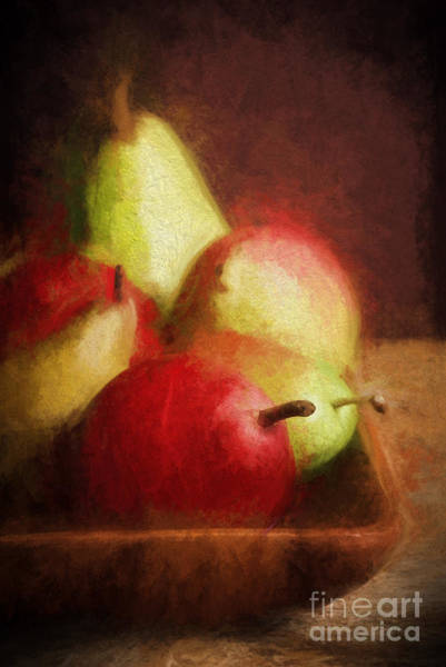 Messy Painting - Pears by HD Connelly