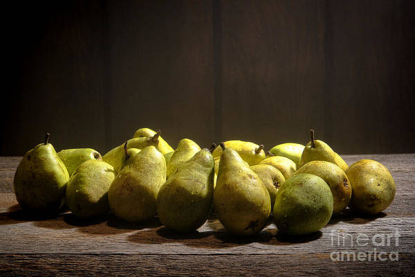 Photograph - Pears by Olivier Le Queinec