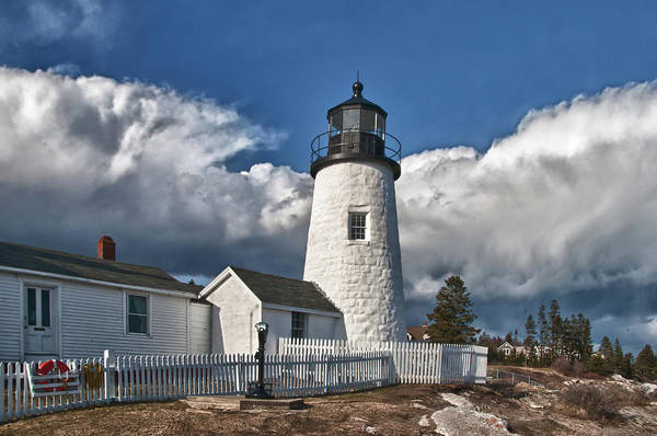 Photograph - Pemaquid Point Lighthouse 4897 by Guy Whiteley