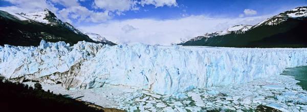 Andes Photograph - Perito Moreno Glacier In The Los by Martin Zwick