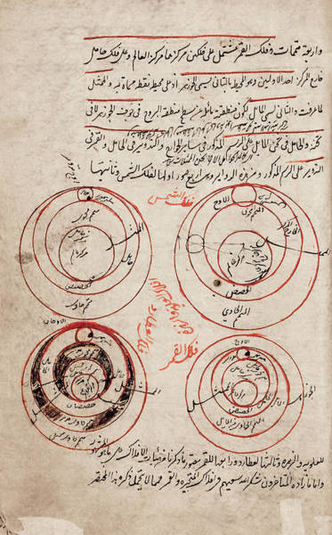 Wall Art - Photograph - Persian Astronomy by Library Of Congress/science Photo Library