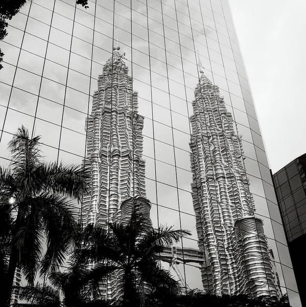 Photograph - Petronas Towers Reflection by Shaun Higson