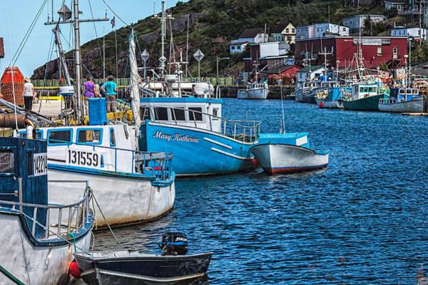 Photograph - Petty Harbour by Perla Copernik