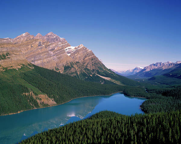 Peyto Lake Wall Art - Photograph - Peyto Lake, Banff Nationalpark, Canada by Hans-peter Merten