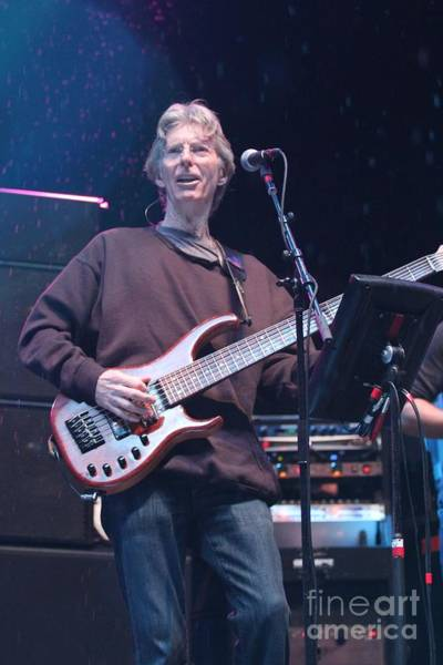 Phil Lesh Photograph - Phil Lesh And Friends by Concert Photos