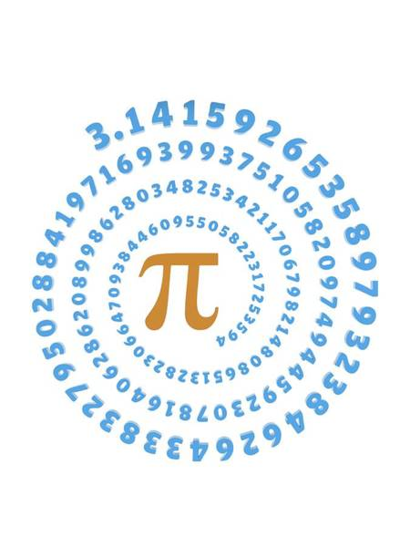 Psi Photograph - Pi Symbol And Number by Alfred Pasieka
