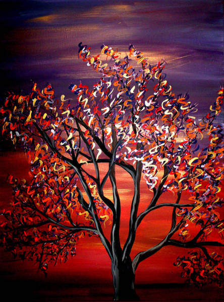 Toomer Wall Art - Painting - Pieces Of Fall  by Mark Moore