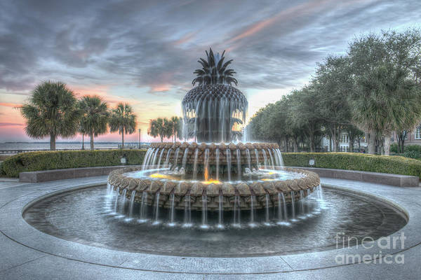 Photograph - Majestic Sunset In Waterfront Park by Dale Powell