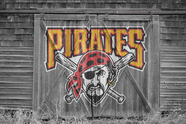 Flag Wall Art - Photograph - Pittsburgh Pirates by Joe Hamilton