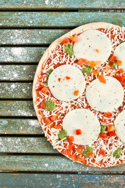 Pizza Photograph - Pizza by Tom Gowanlock