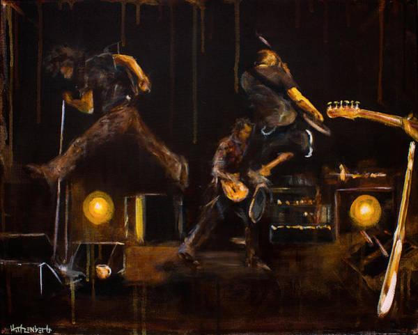 Pearl Jam Painting - PJ  by Josh Hertzenberg