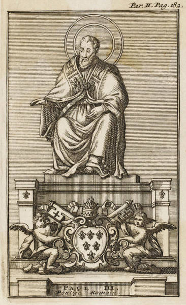 Wall Art - Drawing - Pope Paulus IIi (alessandro Farnese) by Mary Evans Picture Library