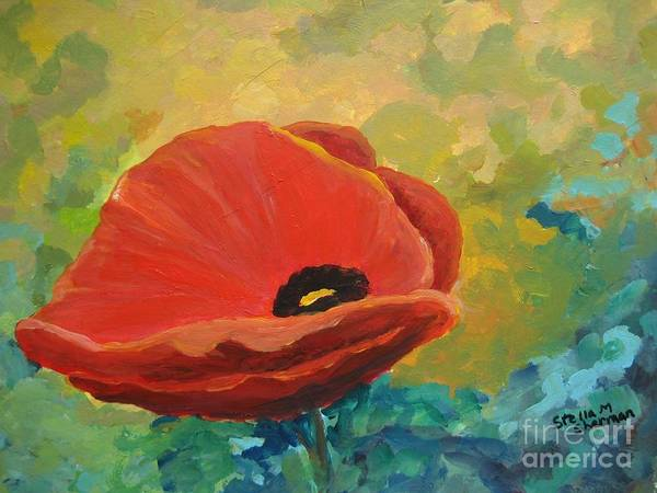 Painting - Poppy by Stella Sherman