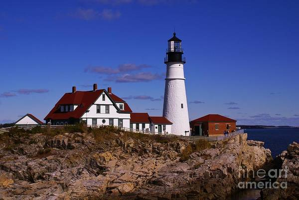 Photograph - Portland Head Light. by New England Photography