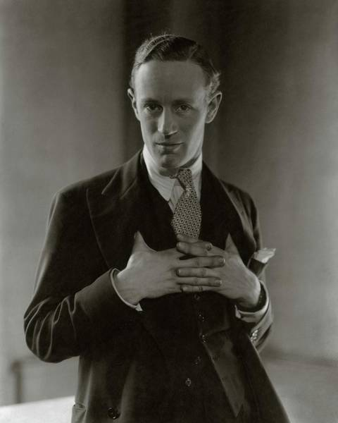 Celebrities Photograph - Portrait Of Leslie Howard by Edward Steichen