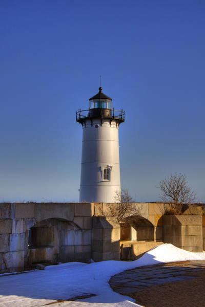 Photograph - Portsmouth Harbor Light by Joann Vitali