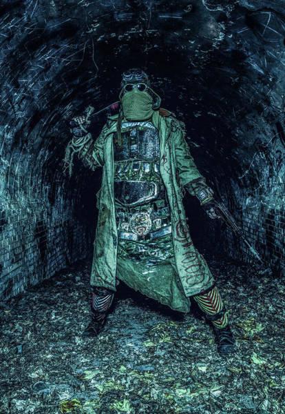 Wall Art - Photograph - Post Apocalyptic Survivor Holding by Oleg Zabielin