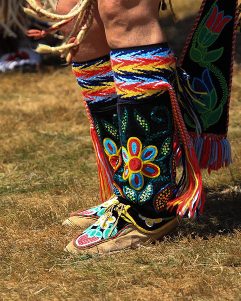 Drum Circle Wall Art - Photograph - Pow Wow 65 by Keith R Crowley